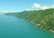 The South Pacific Coast around Corcovado National Park in Costa Rica